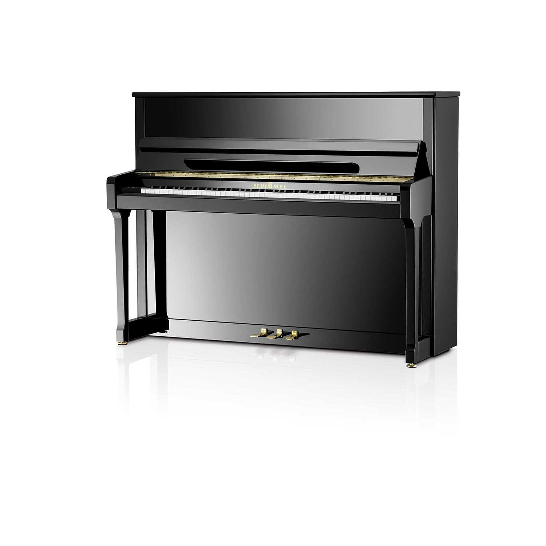 Schimmel Klavier Modell<br/>C 116 Tradition<br/>schwarz poliert, Chrom