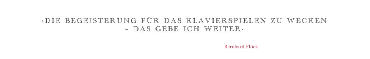 Zitat Bernhard Flöck