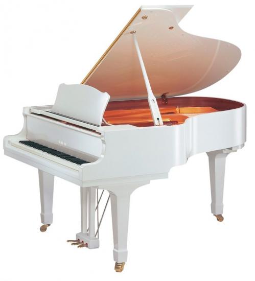 YAMAHA-FLÜGEL Gebraucht<br/>Modell A1, 151cm, Weiß<br/>Baujahr 2010<br/>€ 12 900,-