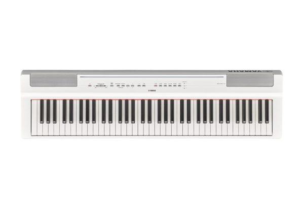 E-Piano Yamaha P121_weiß_von oben