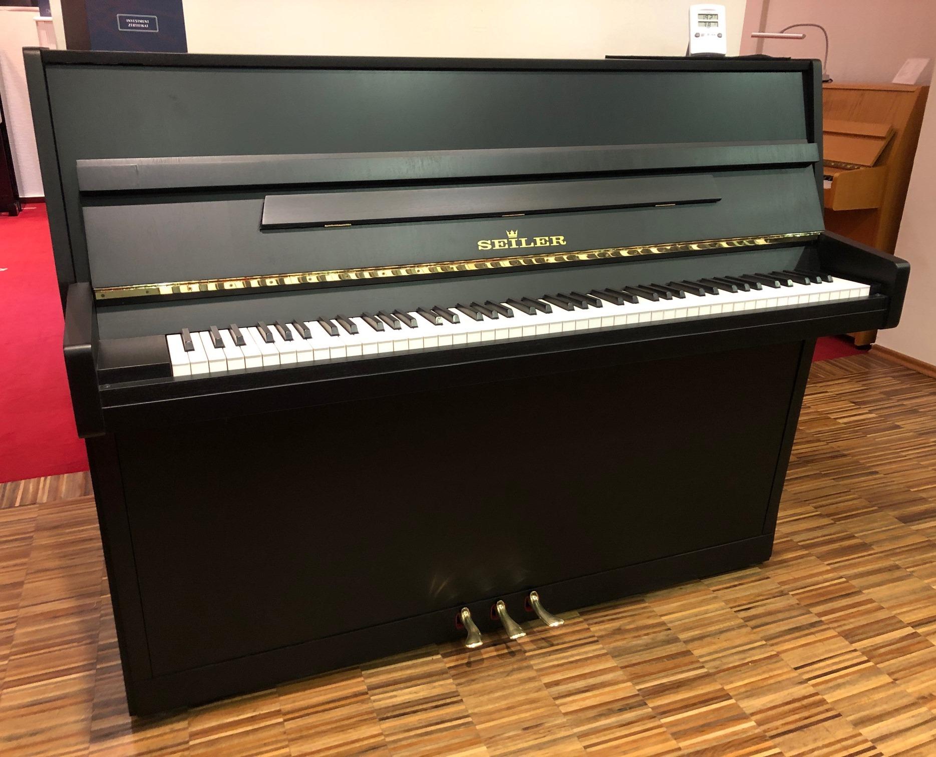 Seiler Klavier<br/>Gebraucht<br/>In Arbeit